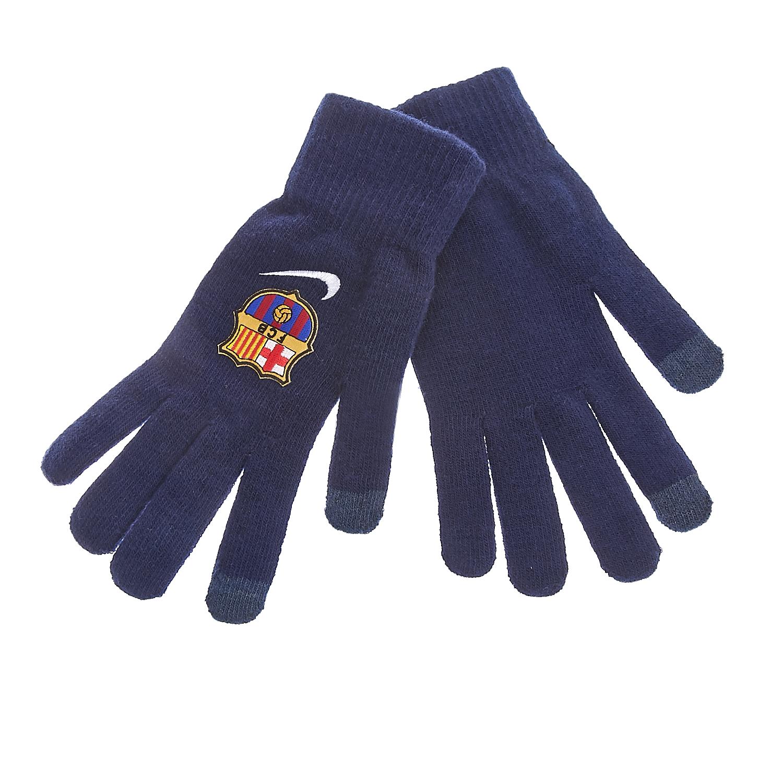 NIKE - Γάντια Nike μπλε ανδρικά αξεσουάρ φουλάρια κασκόλ γάντια