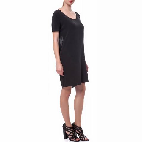 CALVIN KLEIN JEANS. Γυναικείο φόρεμα Calvin Klein Jeans μαύρο 9cbea12bb9c