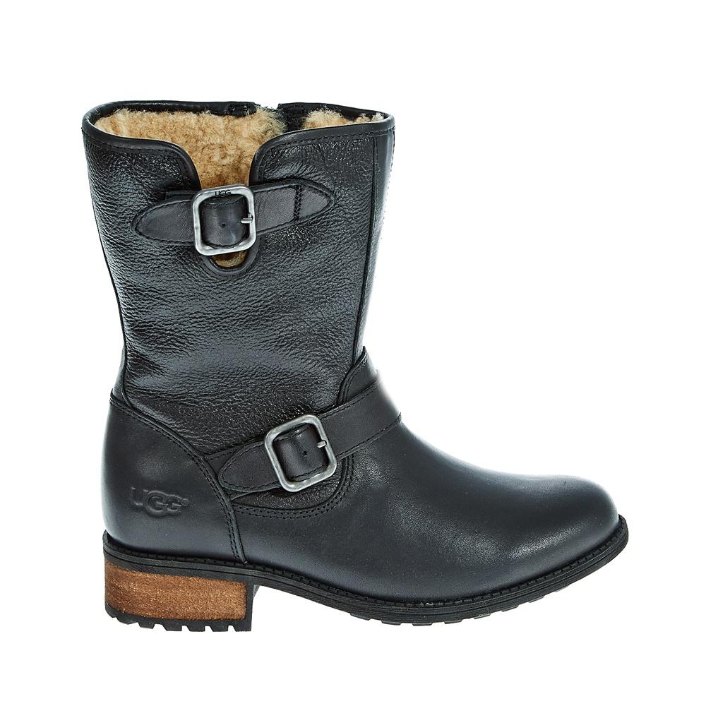 UGG - Γυναικείες μπότες Ugg Australia μαύρες γυναικεία παπούτσια μπότες μποτάκια μπότες