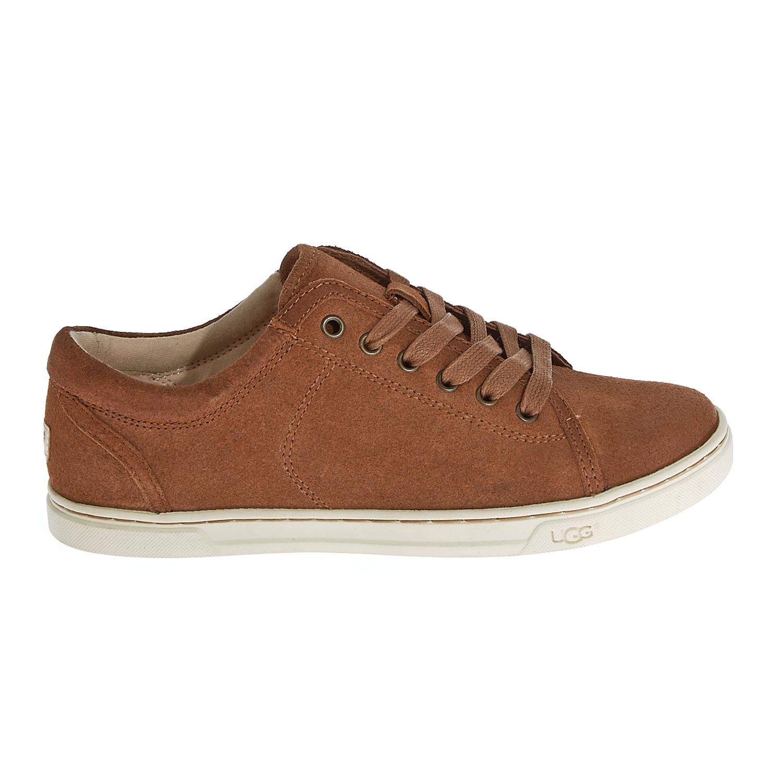 cd3a863a669 UGG - Γυναικεία δερμάτινα παπούτσια Ugg Australia καφέ