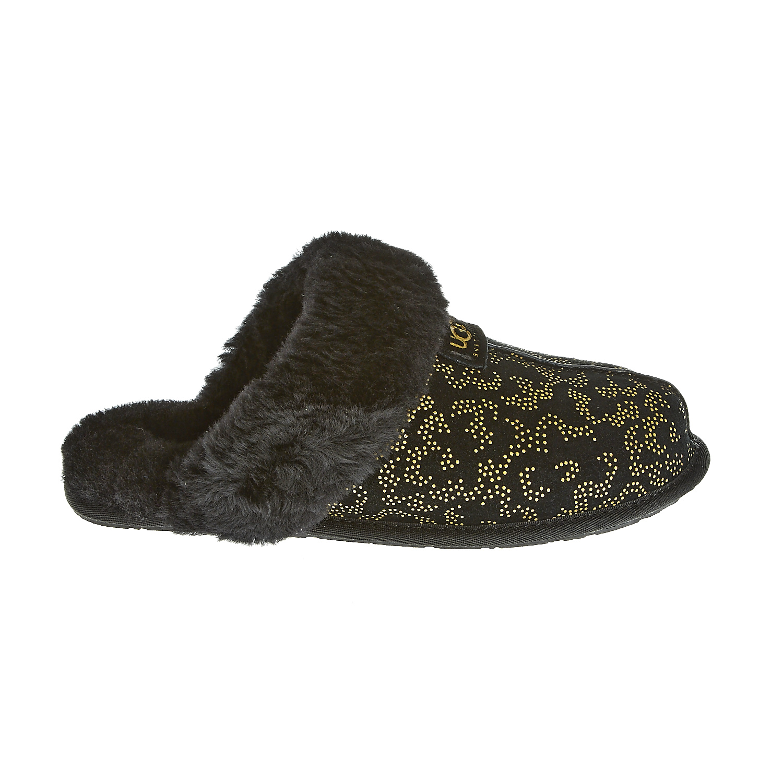 UGG - Γυναικείες παντόφλες Ugg Australia μαύρες γυναικεία παπούτσια παντόφλες