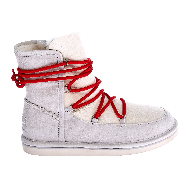 UGG - Γυναικεία μποτάκια Ugg Australia εκρού γυναικεία παπούτσια μπότες μποτάκια μποτάκια