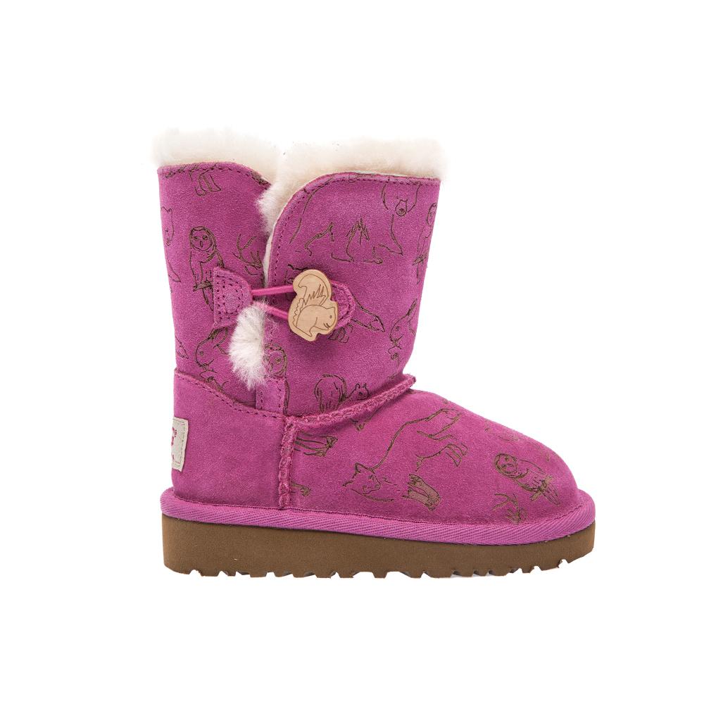 UGG – Παιδικά μποτάκια UGG ροζ-μοβ