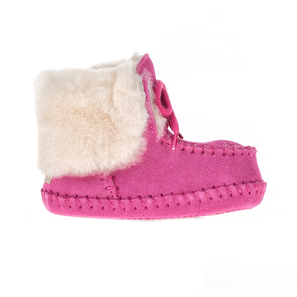 UGG - Βρεφικά μποτάκια SPARROW UGG AUSTRALIA ροζ παιδικά baby παπούτσια μπότες μποτάκια