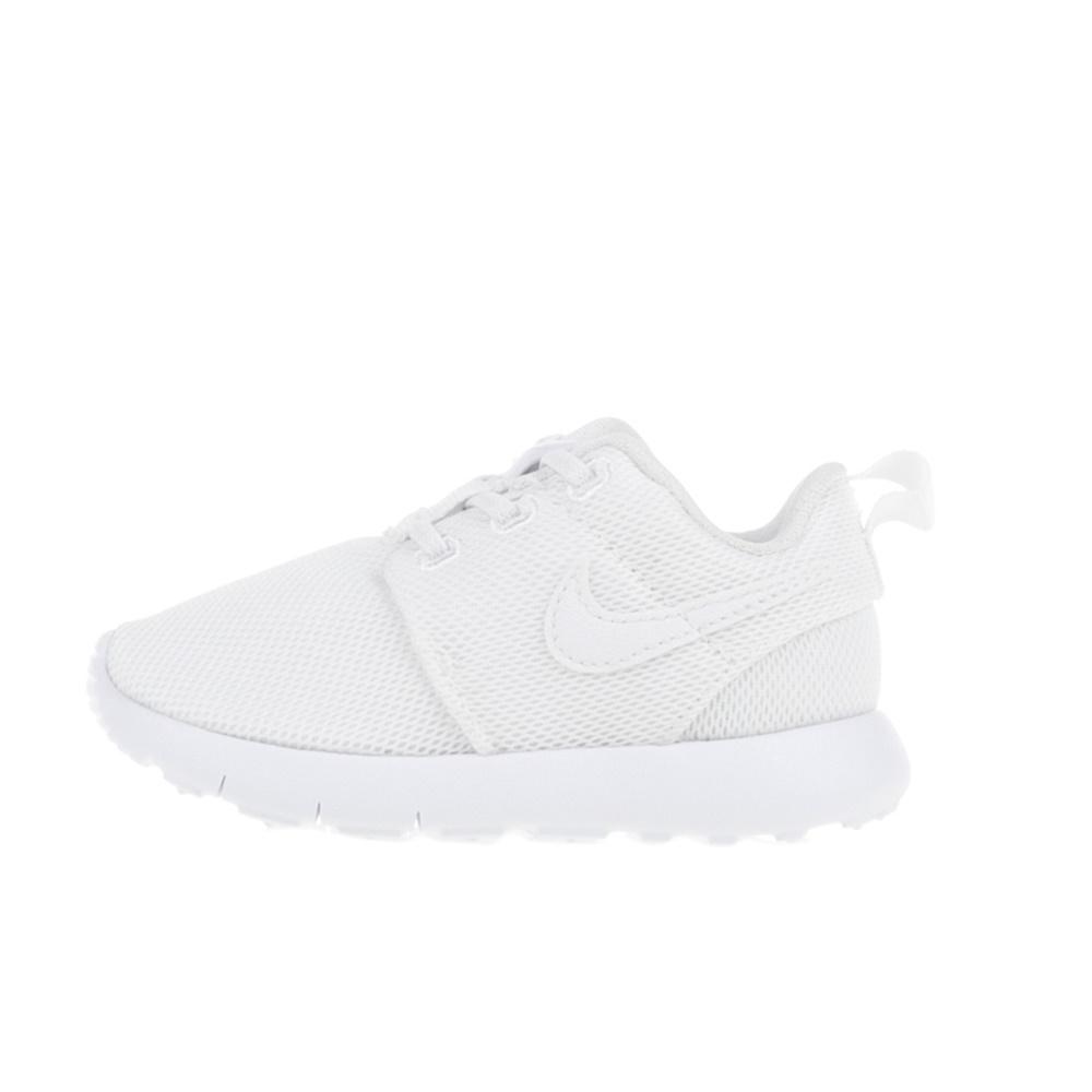 NIKE – Βρεφικά αθλητικά παπούτσια NIKE ROSHE ONE (TDV) λευκά