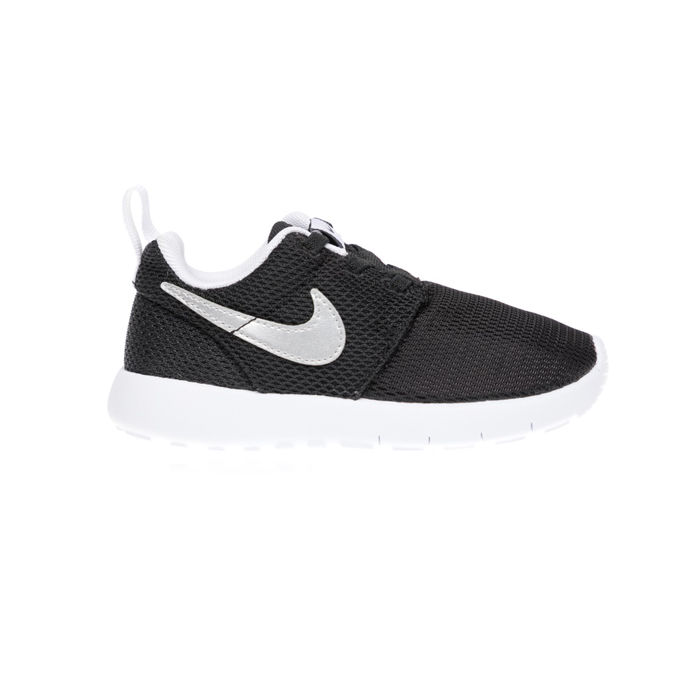 NIKE - Βρεφικά παπούτσια NIKE ROSHE ONE (TDV) μαύρα παιδικά baby παπούτσια αθλητικά