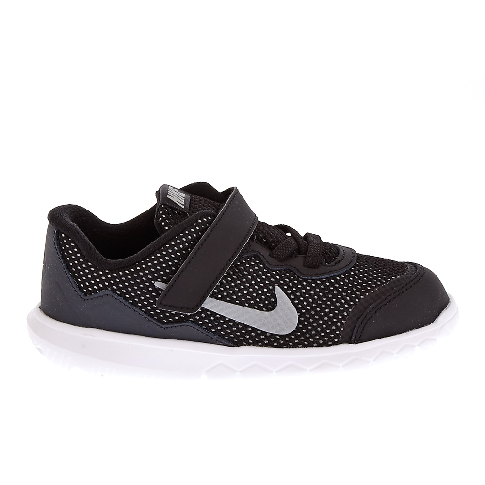NIKE - Βρεφικά παπούτσια Nike FLEX EXPERIENCE 4 (TDV) μαύρα παιδικά baby παπούτσια αθλητικά