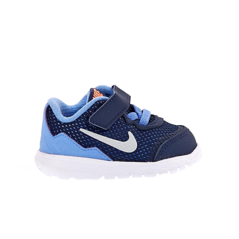 NIKE - Βρεφικά αθλητικά παπούτσια NIKE FLEX EXPERIENCE 4 μπλε παιδικά baby παπούτσια αθλητικά