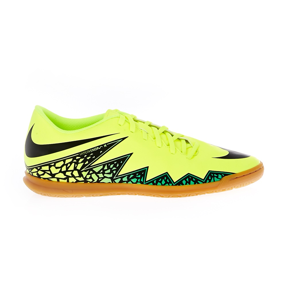NIKE – Ανδρικά παπούτσια Nike HYPERVENOM PHADE II IC κίτρινα-λαχανί