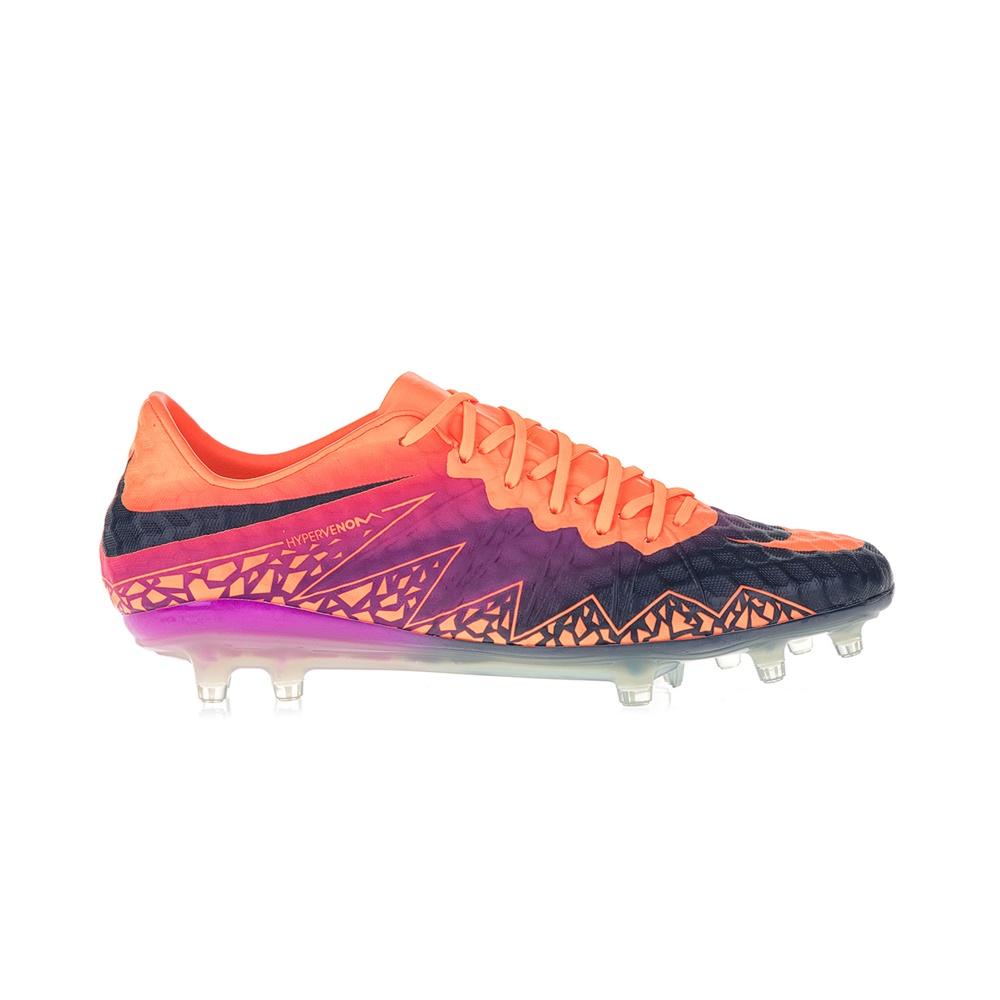 NIKE – Ανδρικά ποδοσφαιρικά παπούτσια ΝΙΚΕ HYPERVENOM PHINISH FG πορτοκαλί-ροζ