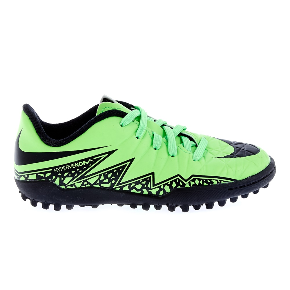 NIKE - Παιδικά παπούτσια Nike JR HYPERVENOM PHELON II TF λαχανί παιδικά boys παπούτσια ποδοσφαιρικά