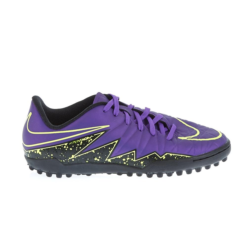 NIKE - Παιδικά παπούτσια Nike JR HYPERVENOM PHELON II TF μoβ παιδικά boys παπούτσια ποδοσφαιρικά