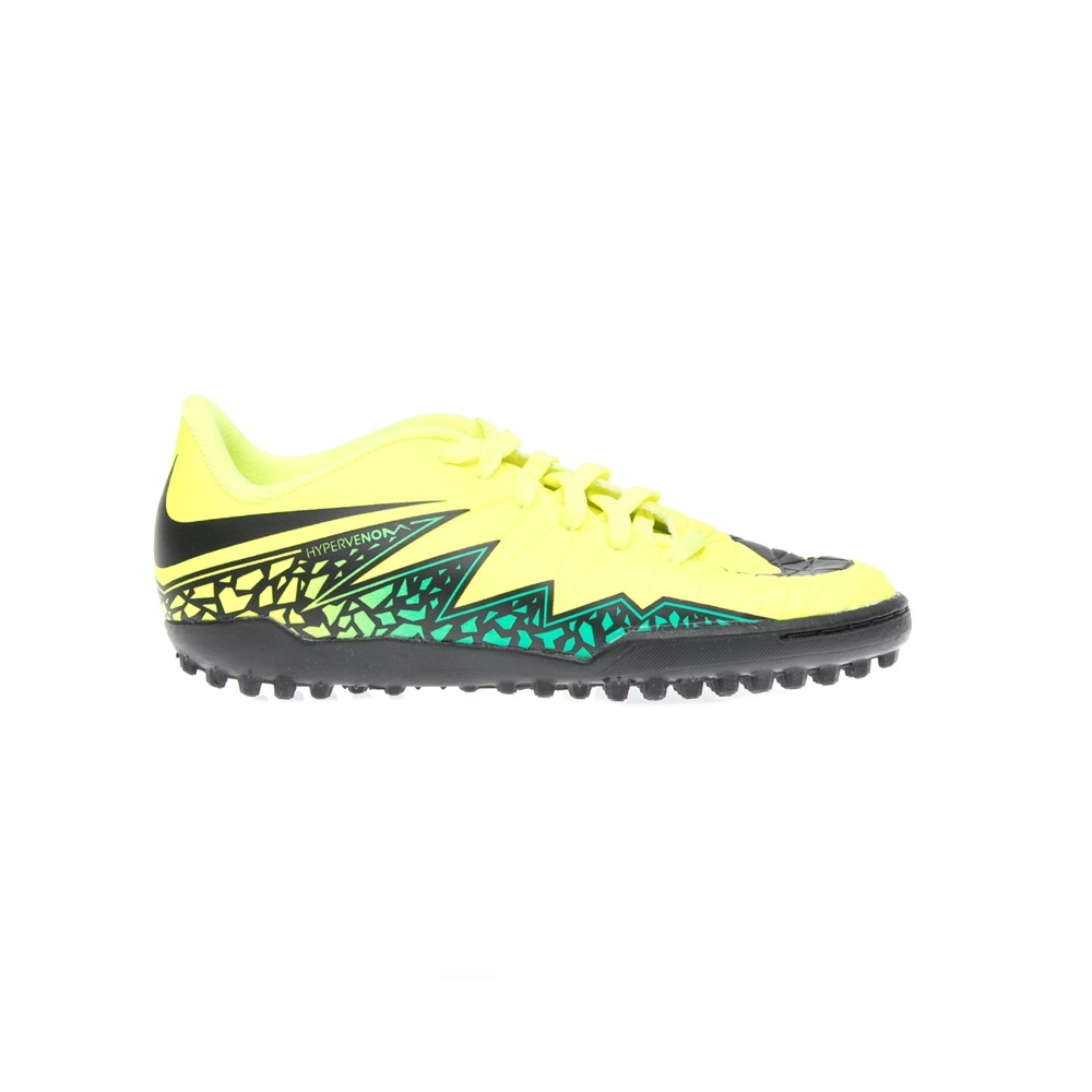 NIKE – Παιδικα παπούτσια NIKE JR HYPERVENOM PHELON II TF κίτρινα