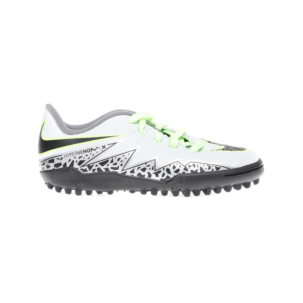 NIKE - Παιδικά παπούτσια NIKE JR HYPERVENOM PHELON II TF λευκά παιδικά boys παπούτσια ποδοσφαιρικά