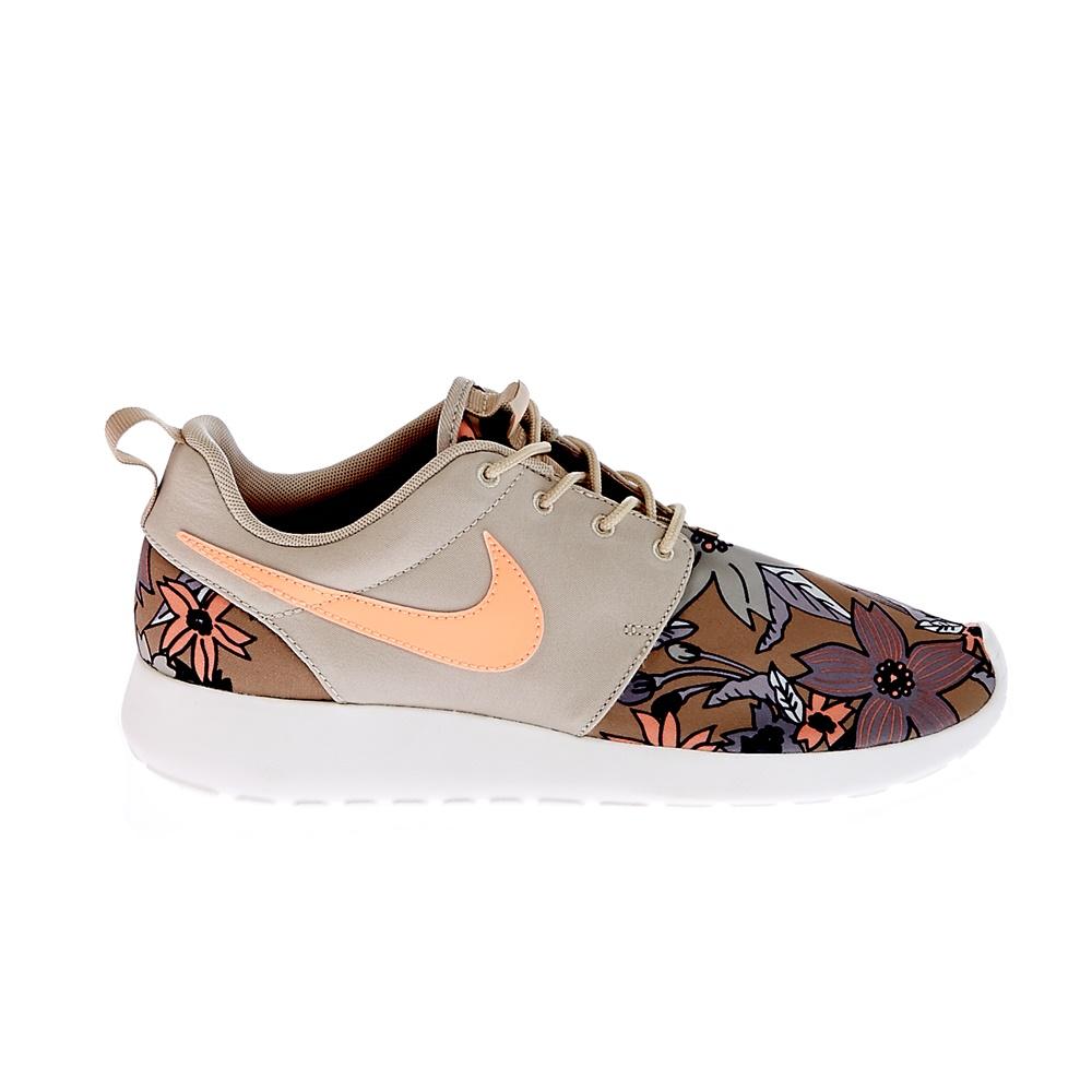 NIKE – Γυναικεία παπούτσια NIKE ROSHERUN PRINT PREM εκρού