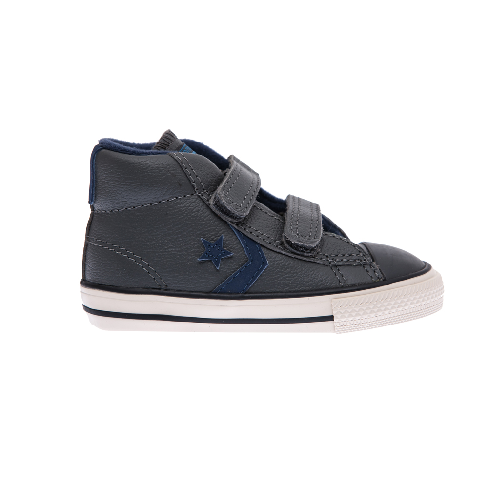 CONVERSE – Βρεφικά παπούτσια Converse Star Player γκρι