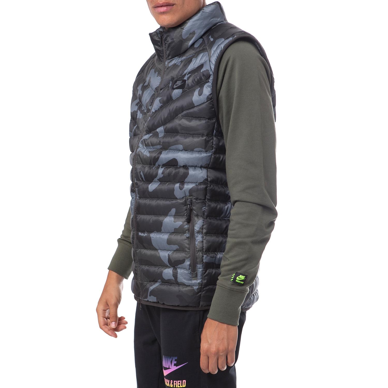 NIKE - Ανδρικό μπουφάν Nike γκρι 30d839798d9