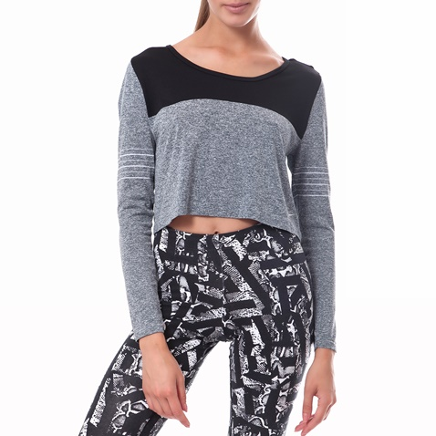 0395e5a00428 Γυναικεία μπλούζα Nike γκρι (1403977.1-0070)