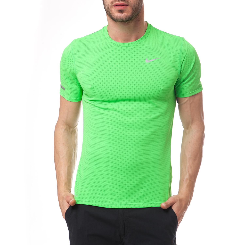 NIKE - Ανδρική μπλούζα Nike λαχανί ανδρικά ρούχα αθλητικά t shirt