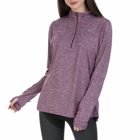 8fd409c8325f Γυναικεία μακρυμάνικη αθλητική μπλούζα Nike μοβ (1404175.1-q500 ...