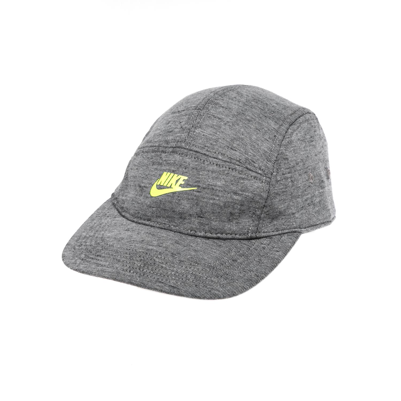 NIKE - Καπέλο NIKE TECH PACK AW84 ADJUSTABLE CAP γκρι γυναικεία αξεσουάρ καπέλα αθλητικά