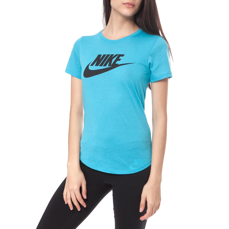 NIKE - Γυναικείο t-shirt NIKE TEE-ICON FUTURA τυρκουάζ