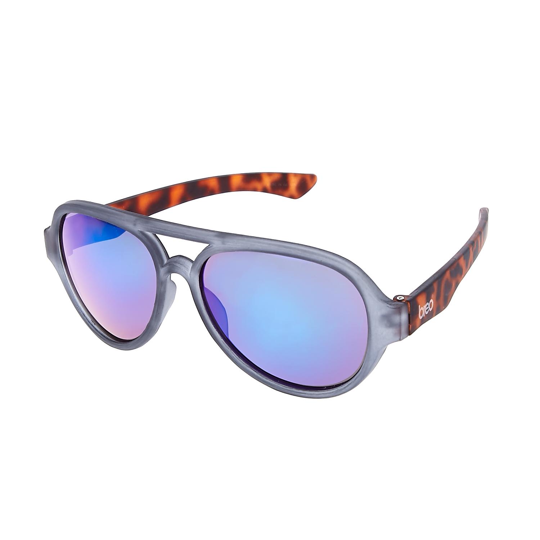 BREO - Unisex γυαλιά ηλίου FLIGHT MIRROR καφέ-γκρι γυναικεία αξεσουάρ γυαλιά ηλίου