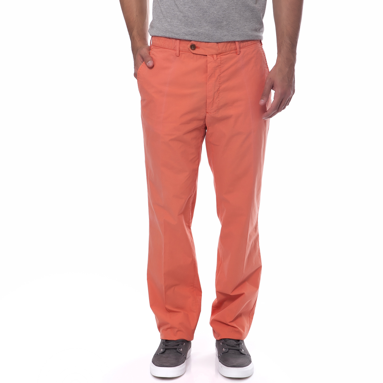 GANT - Ανδρικό παντελόνι Gant πορτοκαλί ανδρικά ρούχα παντελόνια chinos