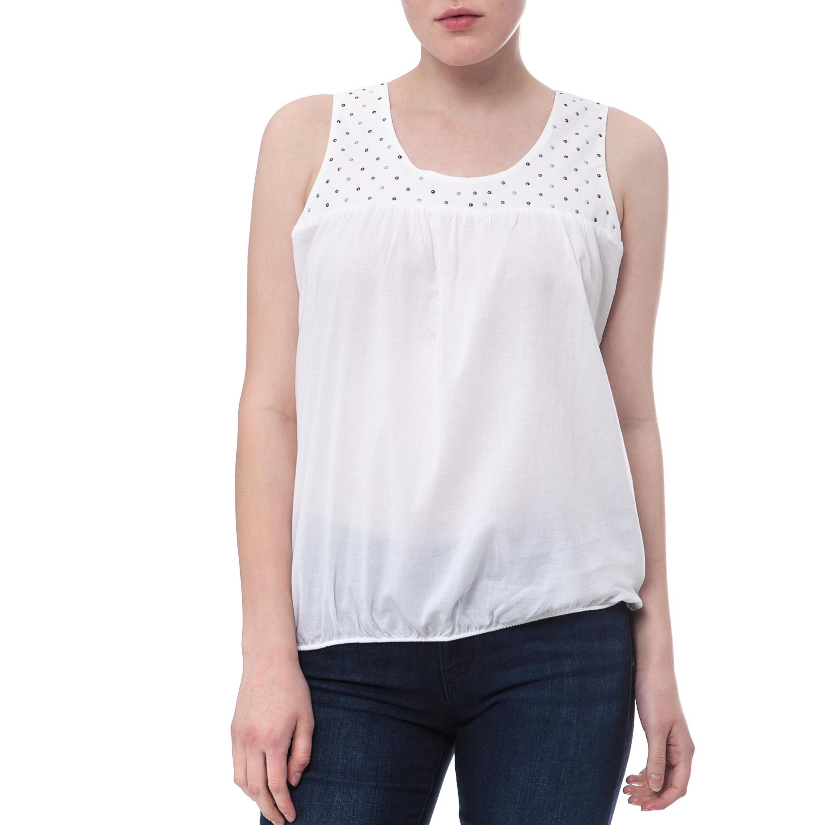 NORTH SAILS - Γυναικεία μπλούζα North Sails λευκή γυναικεία ρούχα μπλούζες αμάνικες