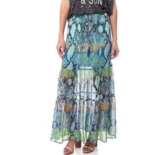 HALE BOB-Γυναικεία φούστα HALE BOB μπλε-πράσινη