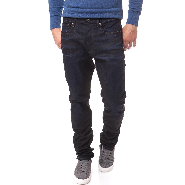 G-STAR RAW - Ανδρικό τζιν παντελόνι G-Star Raw 3301 μπλε-μαύρο ανδρικά ρούχα παντελόνια jean