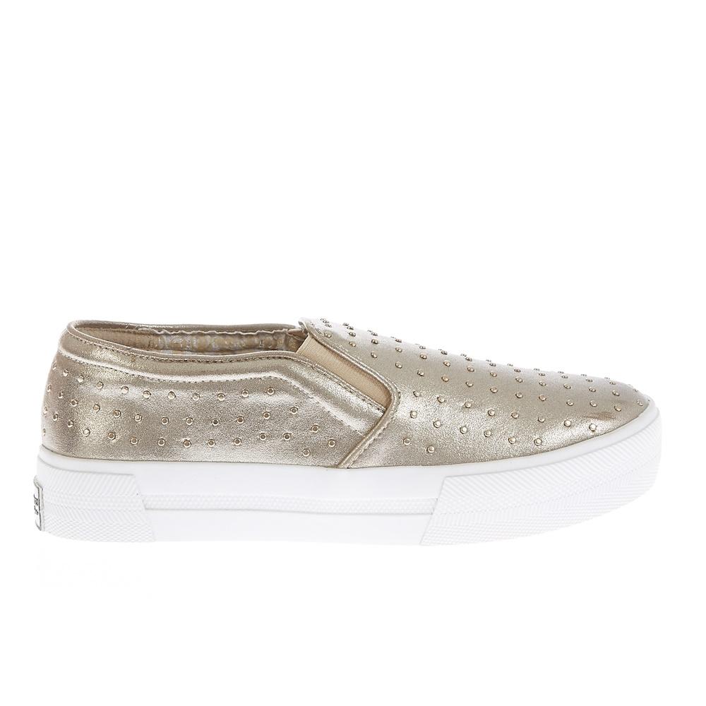 JUICY COUTURE - Γυναικεία παπούτσια Juicy Couture χρυσή απόχρωση γυναικεία παπούτσια μοκασίνια μπαλαρίνες μοκασίνια