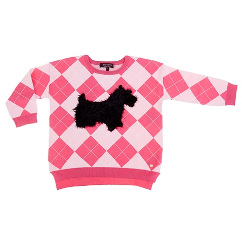 3f1371eb5c0 Παιδικό πουλόβερ Juicy Couture ροζ - JUICY COUTURE KIDS (1411172.0-p4f1) | Factory  Outlet