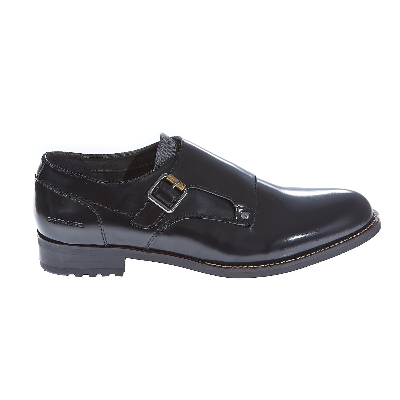"G-STAR RAW - Γυναικεία παπούτσια ""Manor Monk Shine"" μαύρα γυναικεία παπούτσια μοκασίνια μπαλαρίνες μοκασίνια"