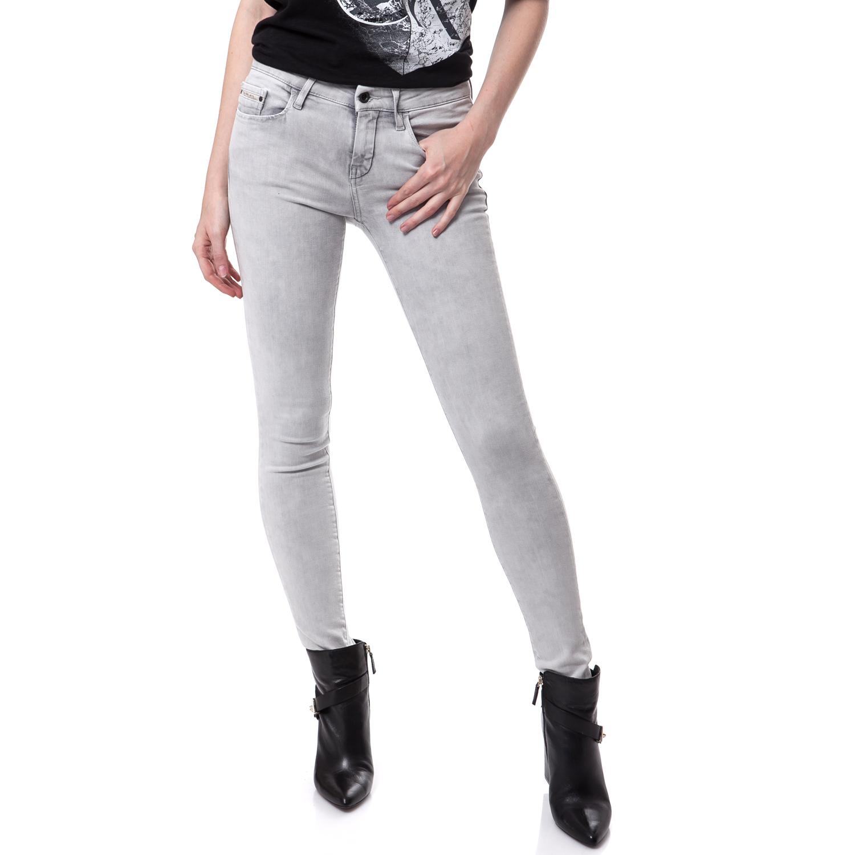 CALVIN KLEIN JEANS - Γυναικείο τζιν παντελόνι Calvin Klein Jeans γκρι c7d222bb70e
