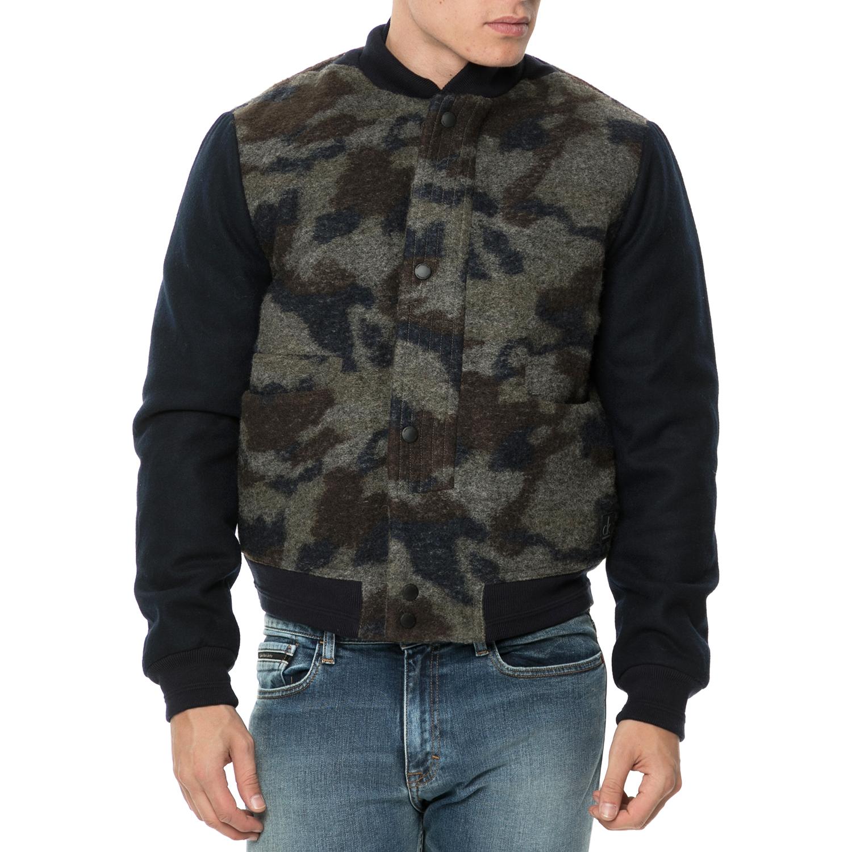 CALVIN KLEIN JEANS - Ανδρικό μάλλινο jacket Adde 2 Ανδρικό μάλλινο jacket με pri ανδρικά ρούχα πανωφόρια τζάκετς