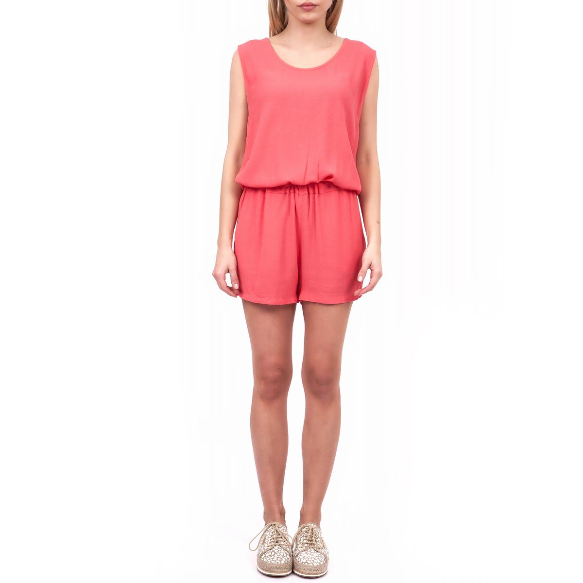 AMERICAN VINTAGE - Γυναικεία ολόσωμη φόρμα American Vintage ροζ γυναικεία ρούχα ολόσωμες φόρμες