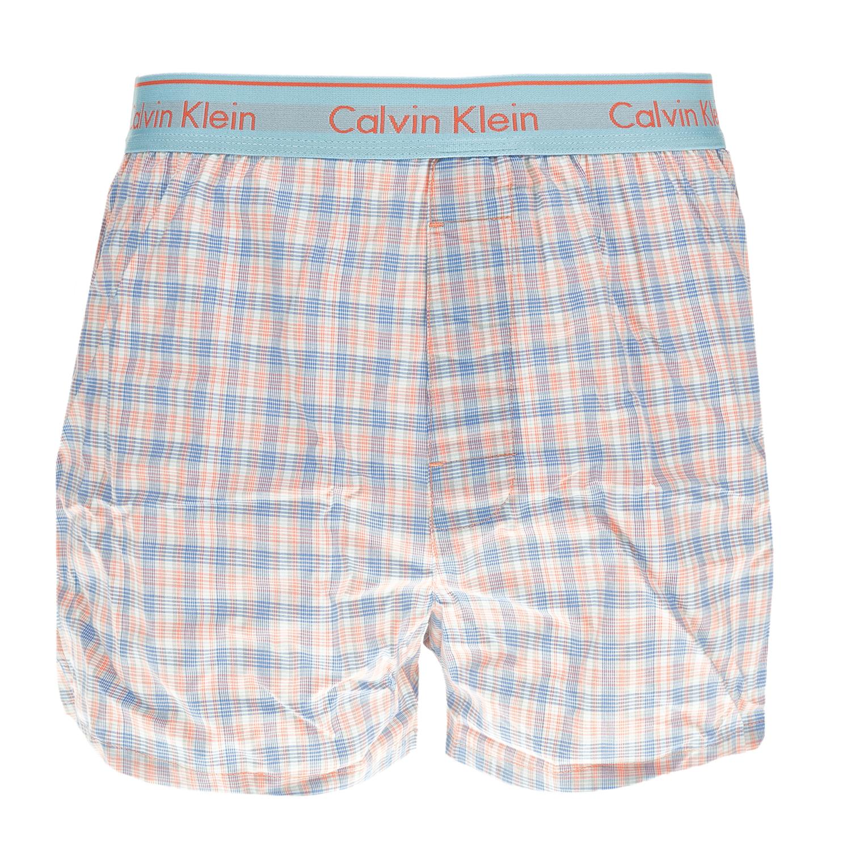 CK UNDERWEAR - Ανδρικό εσώρουχο μπόξερ CK Underwear TRAD FIT BOXER καρό ανδρικά ρούχα εσώρουχα μπόξερ