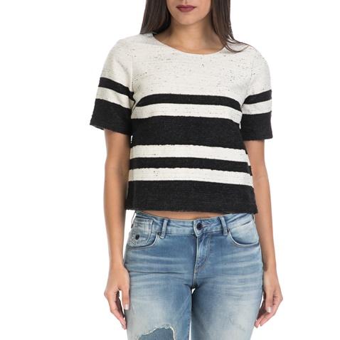 a516428f0964 Γυναικεία μπλούζα SCOTCH   SODA λευκό-μαύρο (1415383.0-00k1 ...
