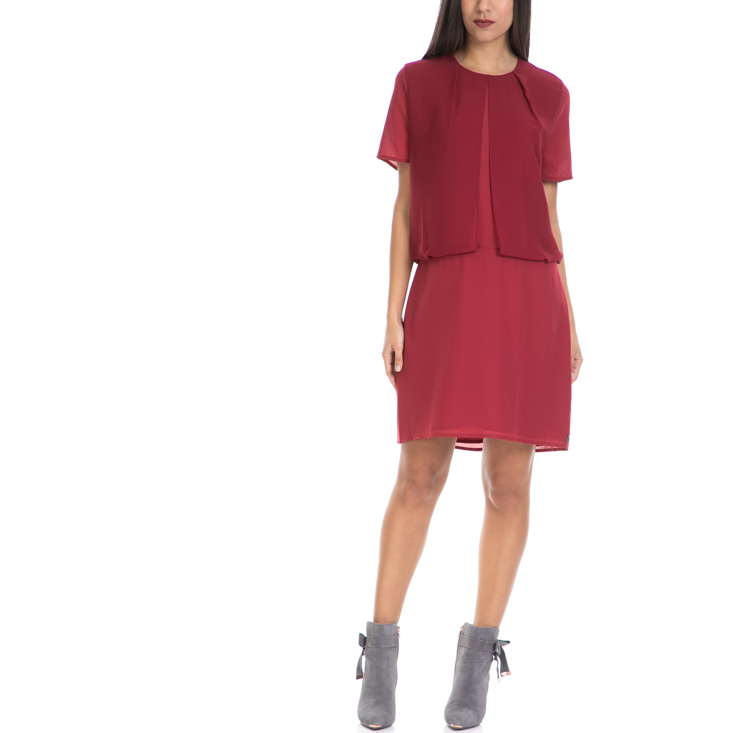 SCOTCH & SODA - Γυναικείο φόρεμα MAISON SCOTCH κόκκινο γυναικεία ρούχα φορέματα μίνι