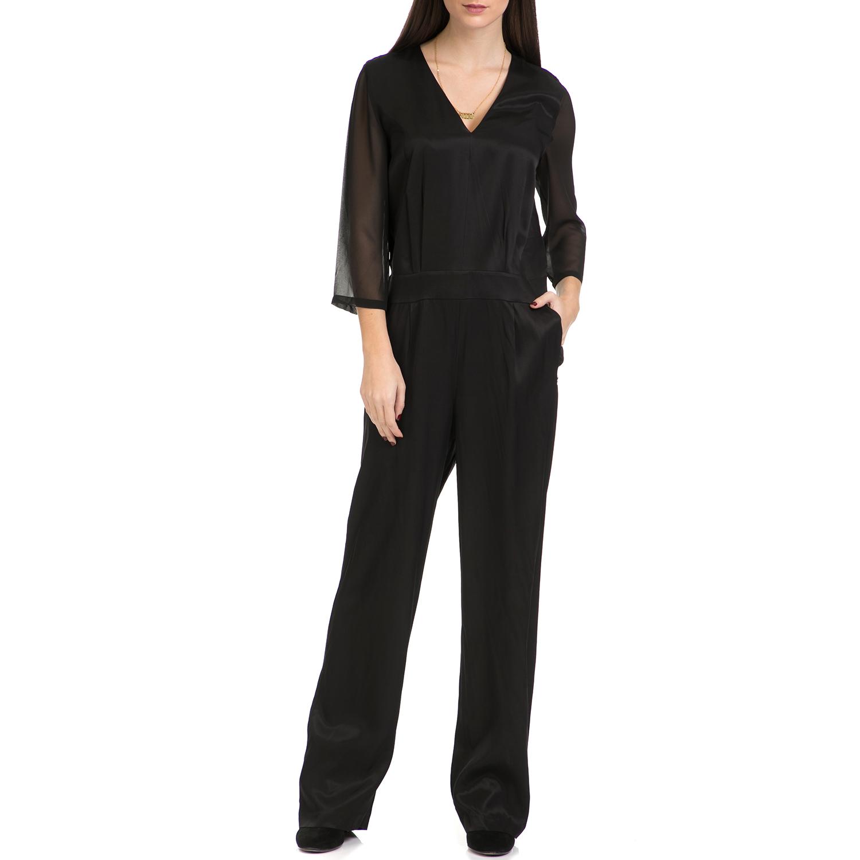 SCOTCH & SODA - Γυναικεία ολόσωμη φόρμα SCOTCH & SODA μαύρη