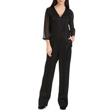 SCOTCH & SODA-Γυναικεία ολόσωμη φόρμα MAISON SCOTCH μαύρη