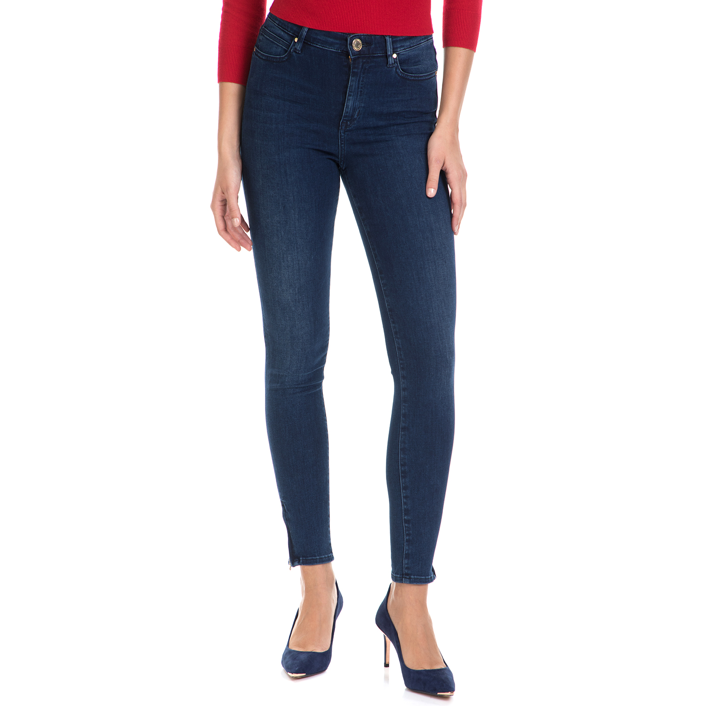 GUESS - Γυναικείο τζιν παντελόνι POWER CURVY B GUESS μπλε γυναικεία ρούχα τζίν skinny