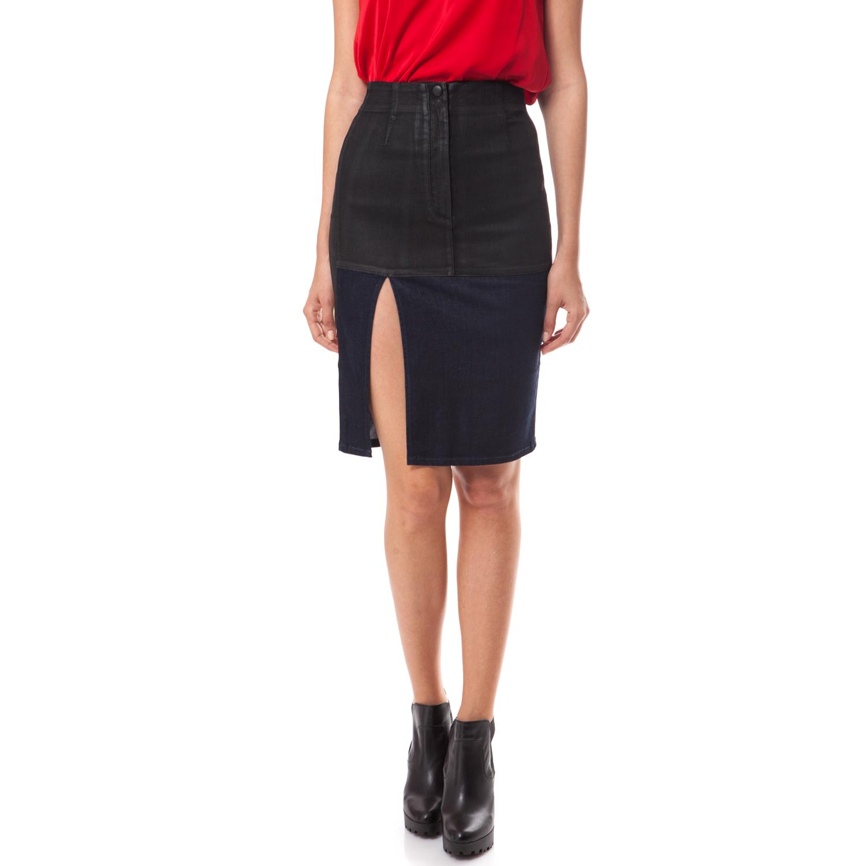 GUESS - Γυναικεία φούστα Guess μαύρη 64bc7b0164b