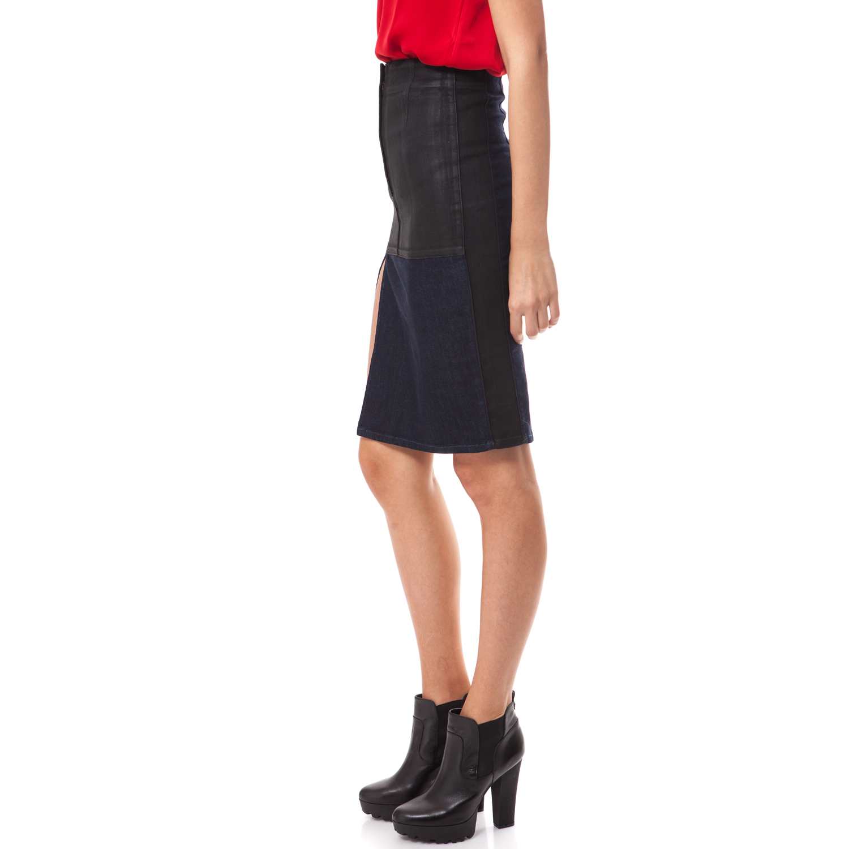 GUESS - Γυναικεία φούστα Guess μαύρη b5ca69bf254