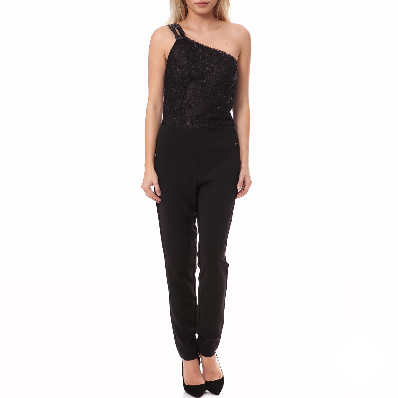 GUESS - Γυναικεία ολόσωμη φόρμα Guess μαύρη γυναικεία ρούχα ολόσωμες φόρμες