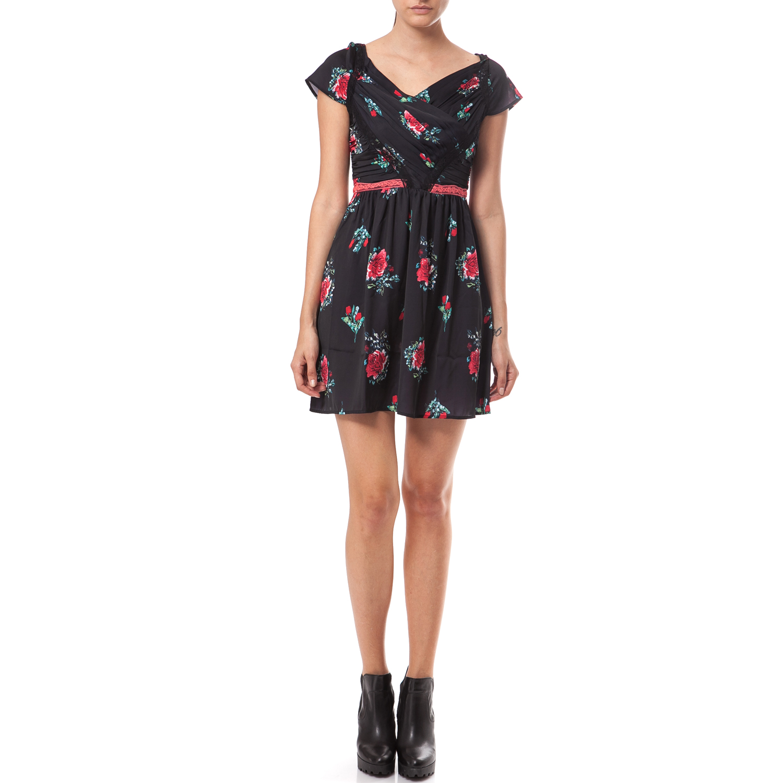 98b73fca1586 GUESS - Γυναικείο φόρεμα Guess μαύρο