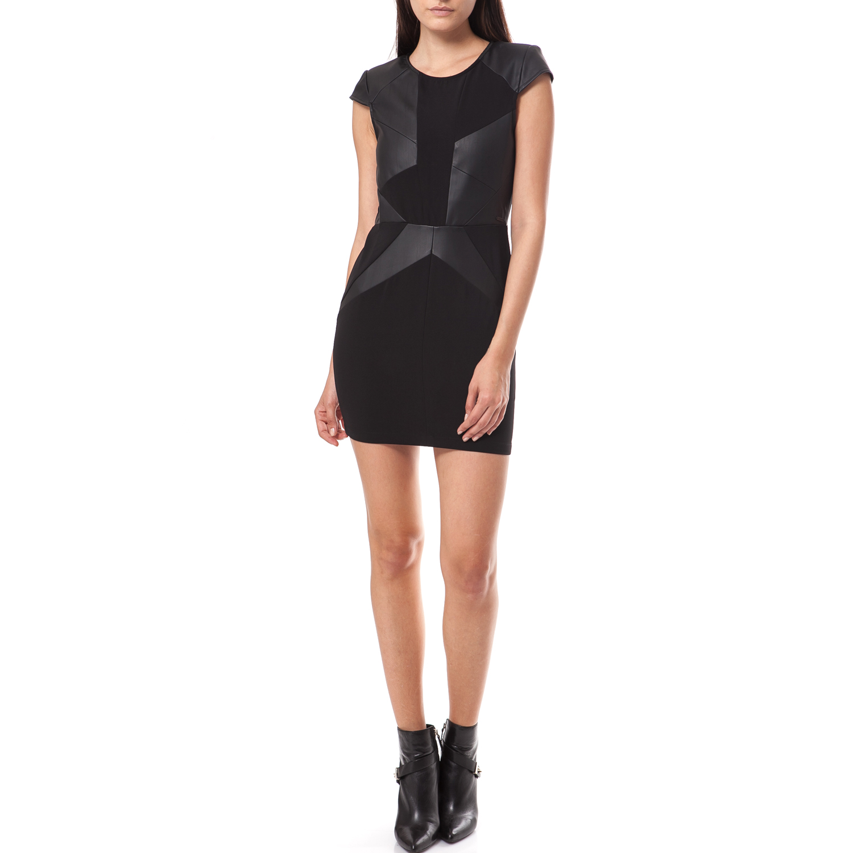 GUESS - Γυναικείο φόρεμα Guess μαύρο γυναικεία ρούχα φορέματα μίνι