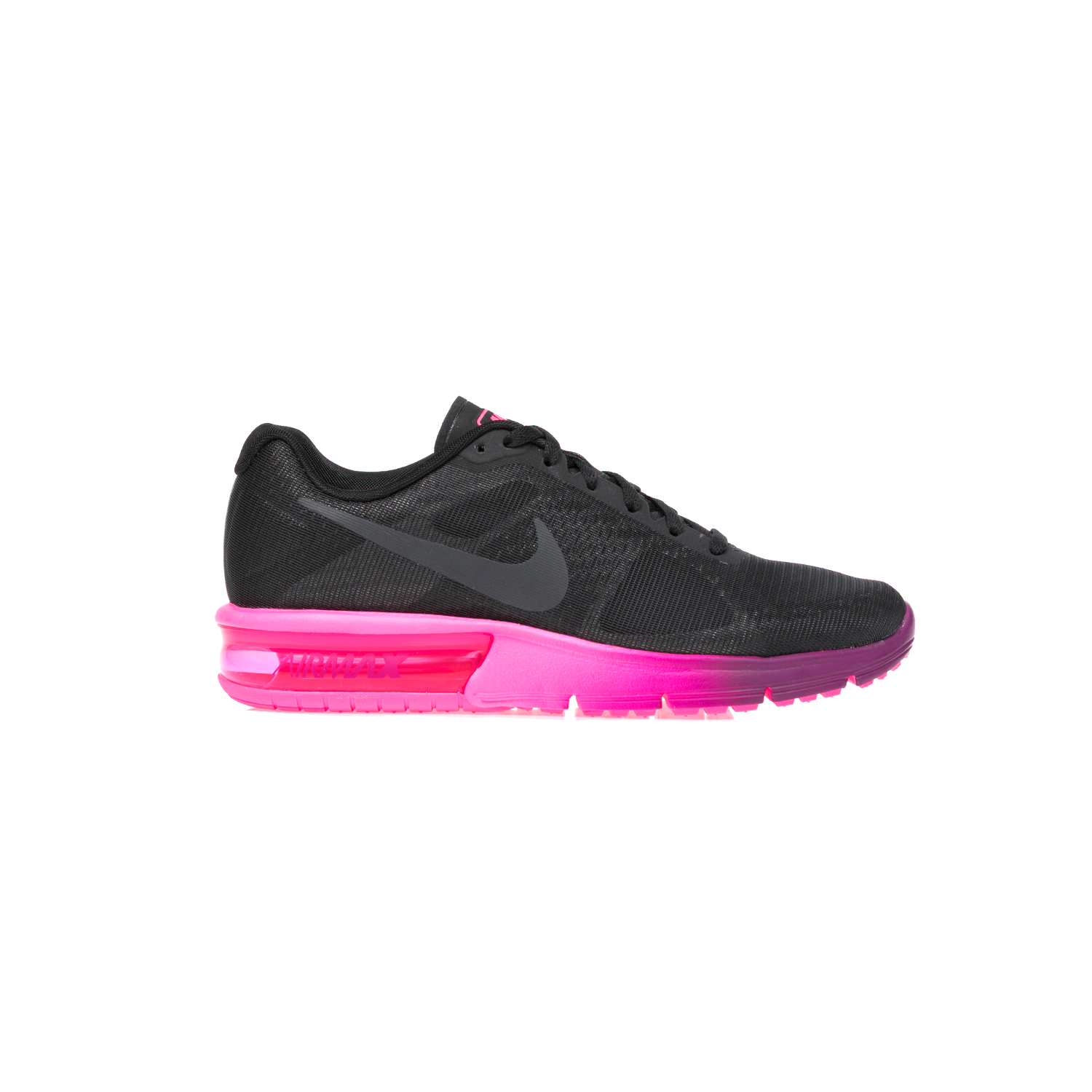 NIKE – Γυναικεία παπούτσια NIKE AIR MAX SEQUENT μαύρα