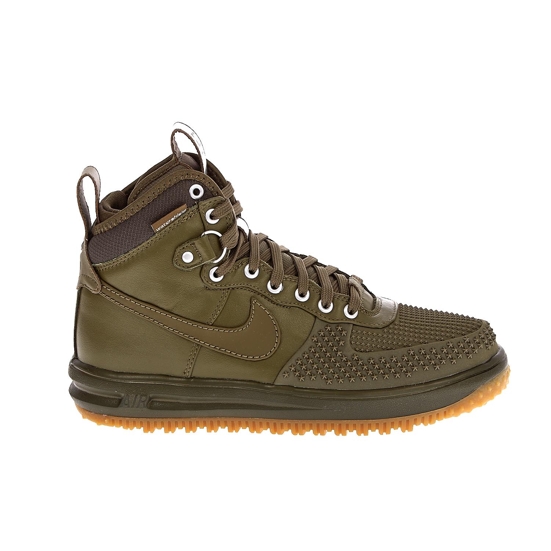NIKE – Ανδρικά αθλητικά παπούτσια NIKE LUNAR FORCE 1 DUCKBOOT χακί